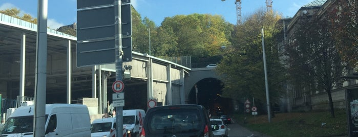 Wagenburgtunnel is one of Stuggi4sq.