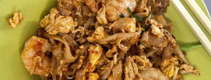 Kafe Khoon Hiang (亚龙炒粿条 Ah Leng Char Koay Teow) is one of Kuliner Penang.