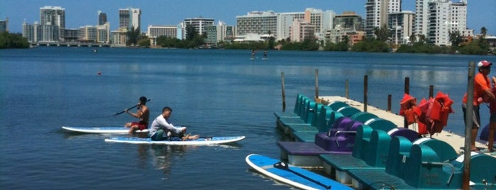 San Juan Paddle Boardin Laguna De Condado is one of Maria Relea : понравившиеся места.
