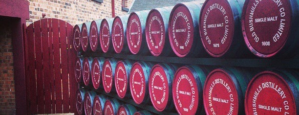 Old Bushmills Distillery is one of In Dublin's Fair City (& Beyond).
