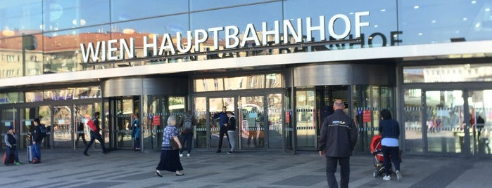 Wien Hauptbahnhof is one of VIENNA TO DO LIST.