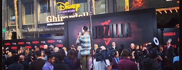 Disney Studio Store is one of Tempat yang Disukai Alberto J S.