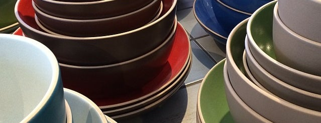 Heath Ceramics is one of The Mission, San Francisco.