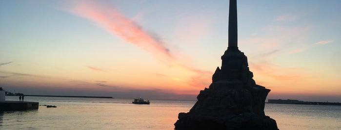 Памятник затопленным кораблям is one of Locais curtidos por Uliyana.