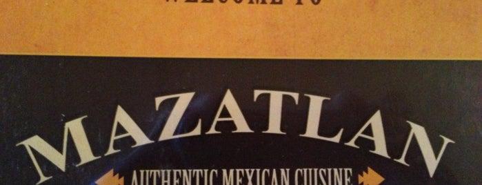 Mazatlan Mexican Restaurant is one of Nashville Eats.