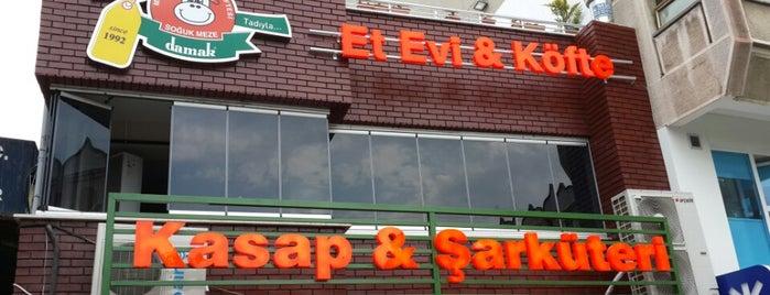 Damak Köfte-Et Evi is one of Trky-Tkrdğ.
