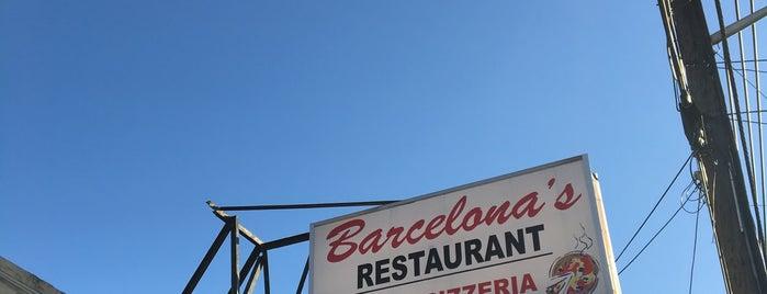 Barcelona Restaurant & Bar is one of NJ Pizza.
