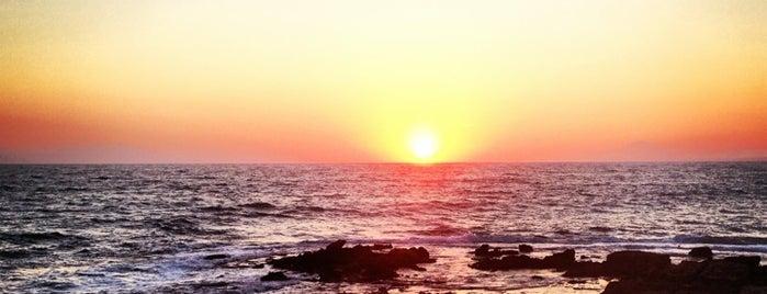Skafidia Beach is one of Lugares favoritos de Евгений.