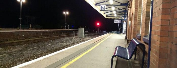 Yeovil Junction Railway Station (YVJ) is one of United Kingdom.