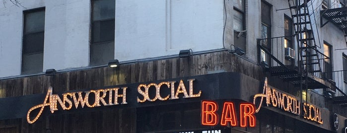The Ainsworth Social is one of Hell's Kitchen.