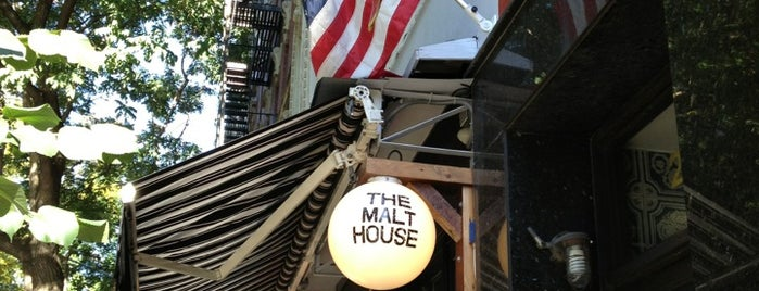 The Malt House is one of NYC Bars.