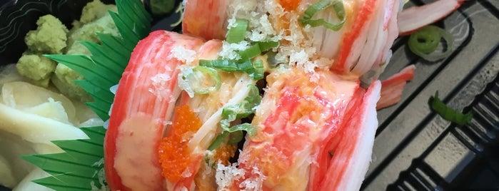 Abumi Sushi is one of Locais curtidos por Jillian W.