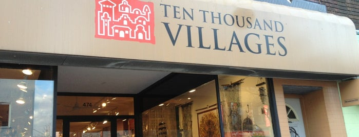 Ten Thousand Villages is one of CAN Toronto Favourites.