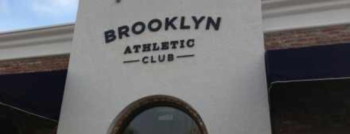 Brooklyn Athletic Club is one of HOU.