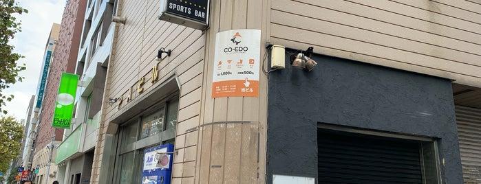 コワーキングスペース茅場町 Co-Edo is one of Orte, die Fyodor gefallen.