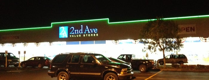 2nd Ave Value Stores is one of To visit.