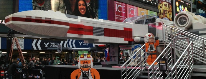 LEGO X-Wing is one of NYC.