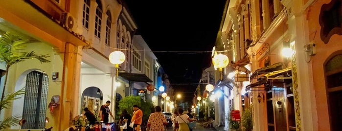 Phuket Old Town is one of Thailand-ia.