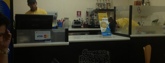 Crepas & Raspas is one of Trabajos posibles.