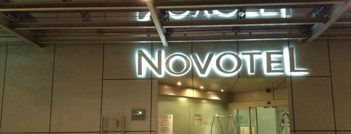 Novotel is one of Lugares favoritos de Angeles.