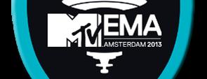 MTV EMA 2013 badge