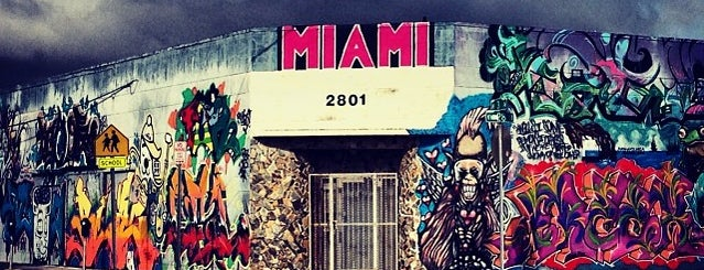 Wynwood Arts District is one of Miami - 2016.