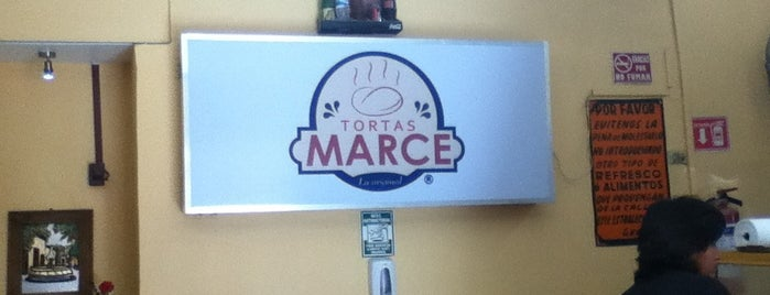 Tortas Marce is one of Jairs 님이 좋아한 장소.