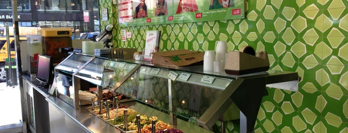 Maoz Falafel & Grill is one of The New Yorkers: Herbivore.