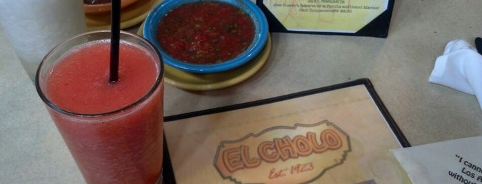 El Cholo is one of Places to drink in SoCal.