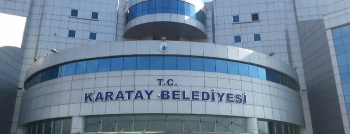 Karatay Belediyesi is one of Posti che sono piaciuti a Kiki.