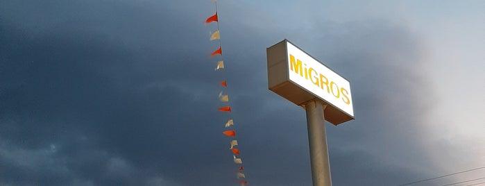 Migros is one of Lieux qui ont plu à Hasret.