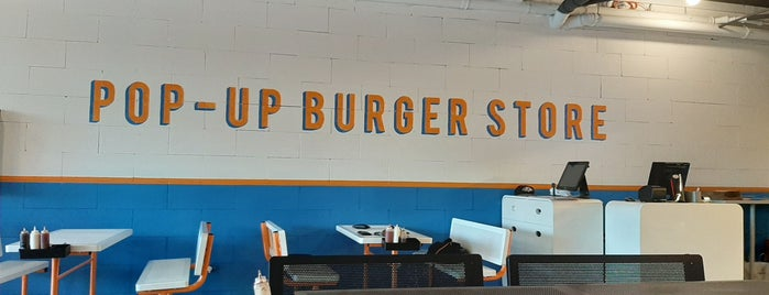 Pop-up Burger Store is one of Yemek 2.
