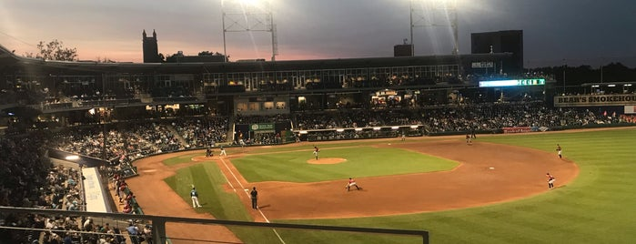 Dunkin' Donuts Park is one of Locais curtidos por Cole.