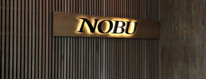 Nobu is one of houston.