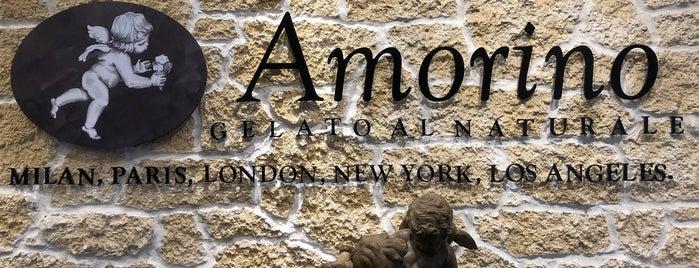 Amorino is one of Lieux qui ont plu à Samah.