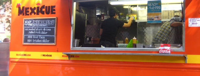 Mexicue Taco Truck is one of New York á la Cart Street Food List.