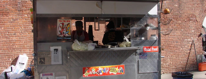 Fauzia's Heavenly Delights is one of New York á la Cart Street Food List.
