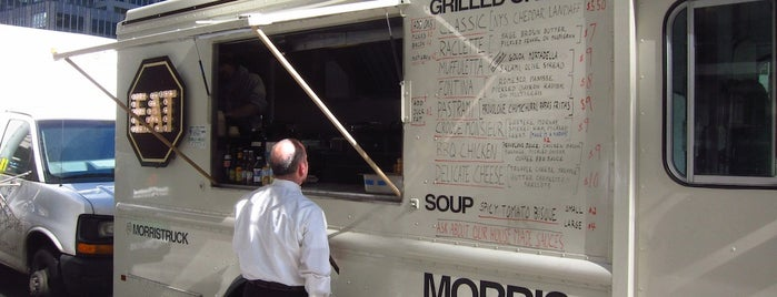 Morris Grilled Cheese Truck is one of New York á la Cart Street Food List.