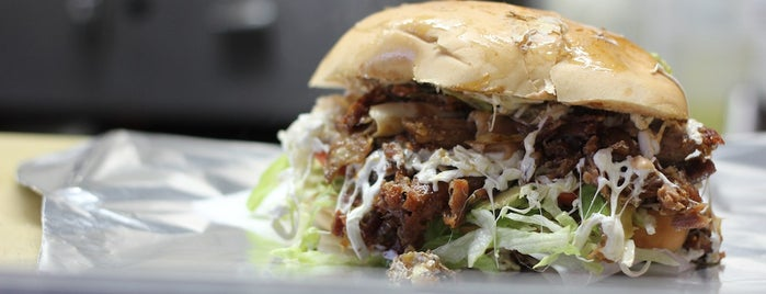 Tortas Neza is one of New York á la Cart Street Food List.