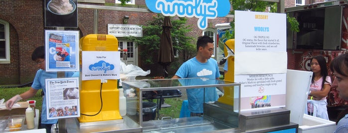 Wooly's Ice is one of New York á la Cart Street Food List.
