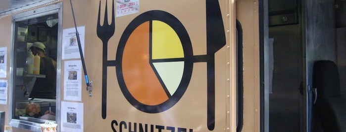 Schnitzel & Things is one of New York á la Cart Street Food List.