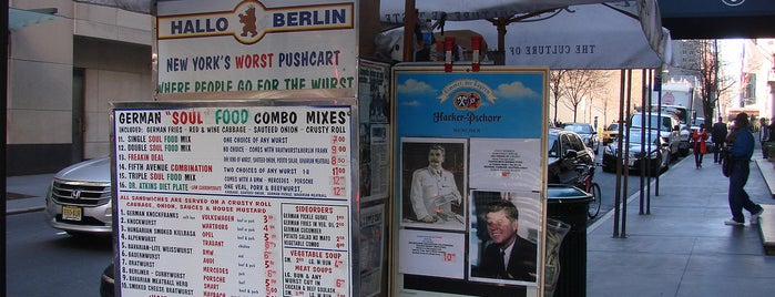Hallo Berlin  German Food Stand is one of New York á la Cart Street Food List.