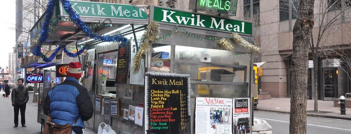 Kwik Meal Cart is one of New York á la Cart Street Food List.