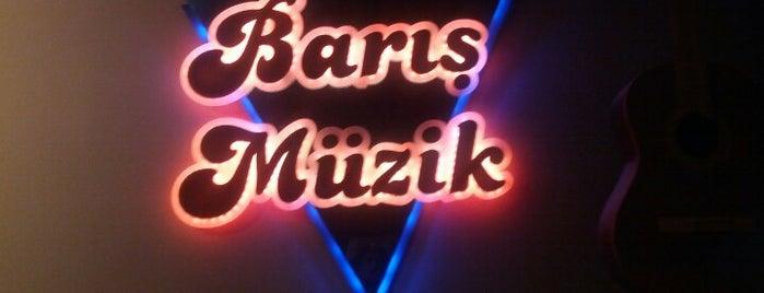 Barış Müzik Ritim Atölyesi & Prova Stüdyosu is one of yerlerim.