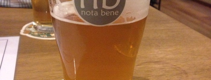 Nota Bene is one of Prague, CZ: Places to visit.