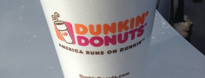 Dunkin' is one of My favorite places to eat.
