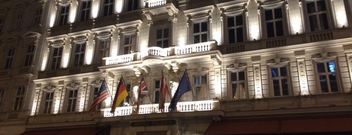 Hotel Sacher is one of Vienna - unlimited.