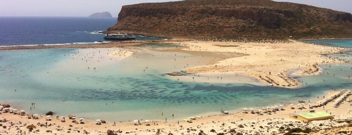 Balos Beach is one of Mikonos-Santorini-Girit.