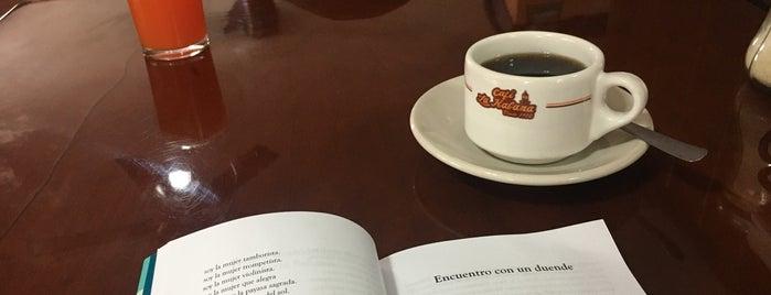 Café La Habana is one of Tempat yang Disukai Javier.