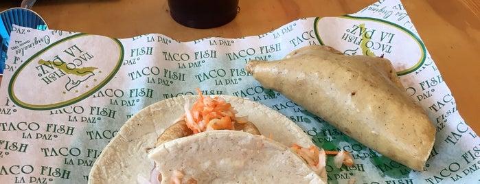 Taco Fish La Paz is one of สถานที่ที่ Javier ถูกใจ.
